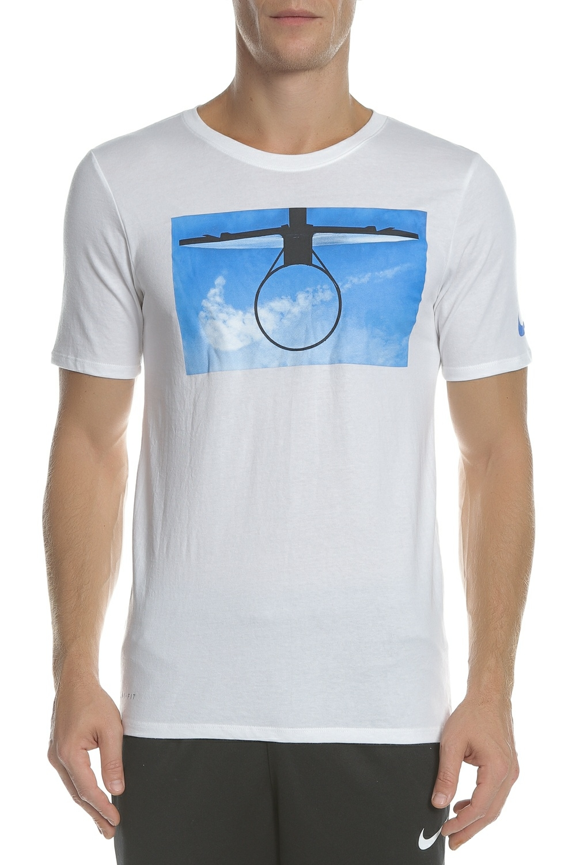 NIKE - Ανδρική κοντομάνικη μπλούζα NIKE DRY TEE DAYDREAM λευκή