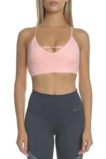 NIKE - Γυναικείο αθλητικό μπουστάκι NIKE INDY JDI BRA ροζ