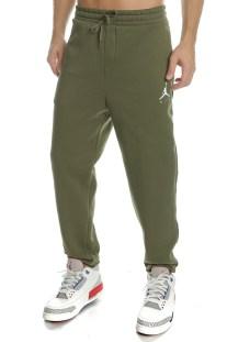NIKE - Ανδρικό παντελόνι φόρμας NIKE JUMPMAN FLEECE PANT πράσινο