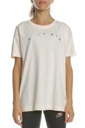 NIKE - Γυναικεία κοντομάνικη μπλούζα NIKE NSW AIR TOP SS BASIC ροζ