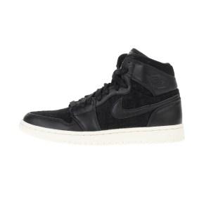 NIKE - Γυναικεία παπούτσια AIR JORDAN 1 RET HI PREM μαύρα