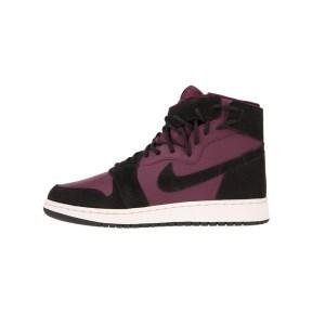 NIKE - Γυναικεία παπούτσια NIKE AIR JORDAN 1 REBEL XX μπορντό-μαύρα