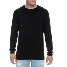 DIRTY LAUNDRY - Ανδρική πλεκτή μπλούζα DIRTY LAUNDRY μαύρη