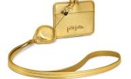 FOLLI FOLLIE - Θήκη για κάρτες με θηλιά FOLLI FOLLIE χρυσή