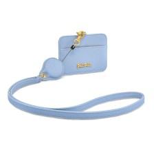 FOLLI FOLLIE - Θήκη για κάρτες με θηλιά FOLLI FOLLIE γαλάζια