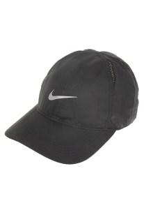 NIKE - Unisex καπέλο NIKE FTHLT CAP RUN μαύρο
