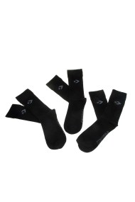 CONVERSE - Σετ ανδρικές κάλτσες Converse μαύρες