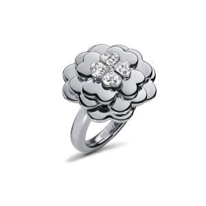 FOLLI FOLLIE - Γυναικείο επάργυρο δαχτυλίδι FOLLI FOLLIE ασημί