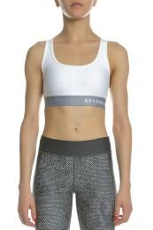 UNDER ARMOUR - Αθλητικό μπουστάκι UNDER ARMOUR Mid Crossback λευκό