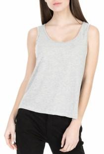 AMERICAN VINTAGE - Γυναικεία αμάνικη μπλούζα AMERICAN VINTAGE γκρι