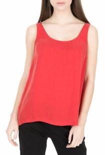 AMERICAN VINTAGE - Γυναικεία αμάνικη μπλούζα AMERICAN VINTAGE κόκκινη