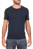 AMERICAN VINTAGE - Ανδρική κοντομάνικη μπλούζα American Vintage μπλε σκούρη