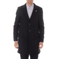 SCOTCH & SODA - Ανδρικό παλτό SCOTCH & SODA Classic 3-button σκούρο μπλέ
