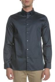 TED BAKER - Ανδρικό μακρυμάνικο πουκάμισο TED BAKER PLATEEN LS μπλε