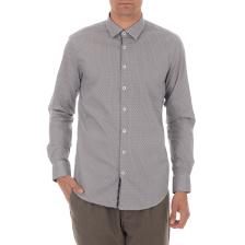 SSEINSE - Ανδρικό πουκάμισο SSEINSE λευκό μπλε
