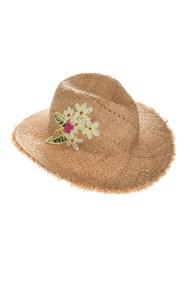 ECHO - Γυναικείο ψάθινο καπέλο ECHO EXCURSION μπεζ