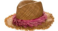 ECHO - Γυναικείο ψάθινο καπέλο ECHO MANGROVE καφέ