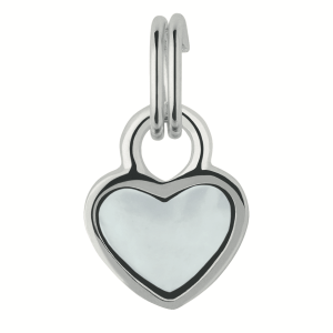 LINKS OF LONDON - Ασημένιο charm Links of London Mini Heart Paper Charm