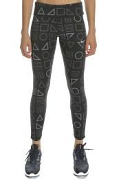 NIKE - Γυναικείο κολάν NIKE EPIC LX TGHT FL μαύρο με print