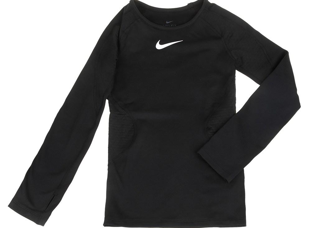 NIKE - Παιδική μακρυμάνικη μπλούζα NIKE NP WM TOP μαύρη
