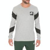 NIKE - Ανδρική μπλούζα NIKE NSW CLTR AIR 2 γκρι
