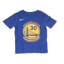 NIKE NBA KIDS - Βρεφικό t-shirt NIKE NBA KIDS WARSC BOYS ICON N&N μπλε