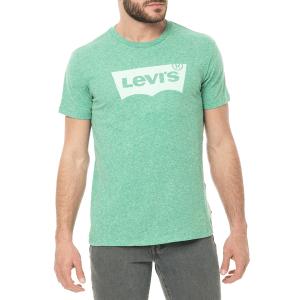 LEVI'S - Ανδρικό t-shirt LEVI'S HOUSEMARK GRAPHIC πράσινο