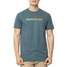 BILLABONG - Ανδρικό t-shirt BILLABONG DAKINE DA RAIL πράσινο