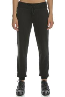 CONVERSE - Γυναικείο παντελόνι φόρμας Converse Sweater Knit Pant μαύρο