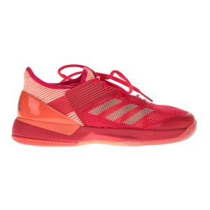 adidas - Γυναικεία παπούτσια τένις adidas adizero ubersonic 3 κόκκινα