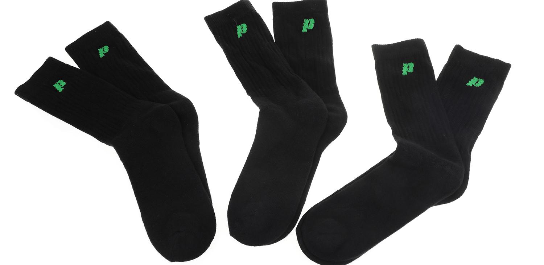 PRINCE - Ανδρικές κάλτσες Prince Classic M Crew μαύρες