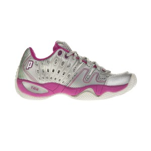 PRINCE - Γυναικεία παπούτσια τένις PRINCE T22 ασημί