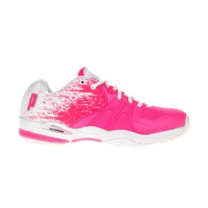 PRINCE - Γυναικεία παπούτσια τέννις ωWarrior Lite λευκά-ροζ