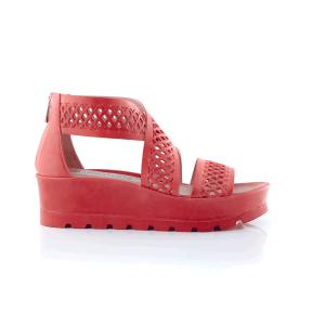 CHANIOTAKIS - Γυναικείες πλατφόρμες MAVERICK 8012 κόκκινες