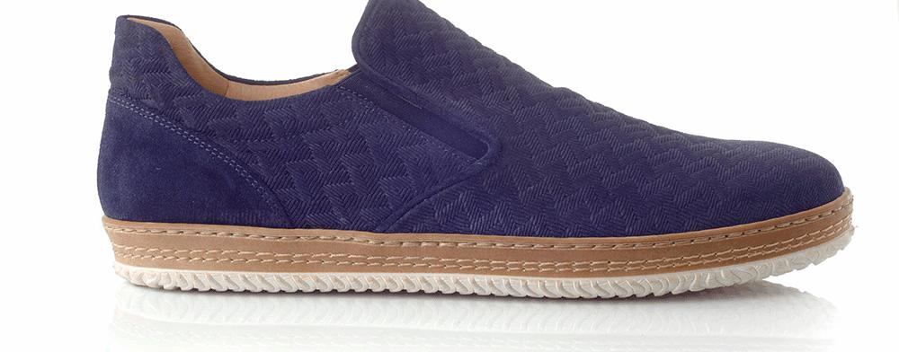 CHANIOTAKIS - Ανδρικά παπούτσια ADRIANO μπλε
