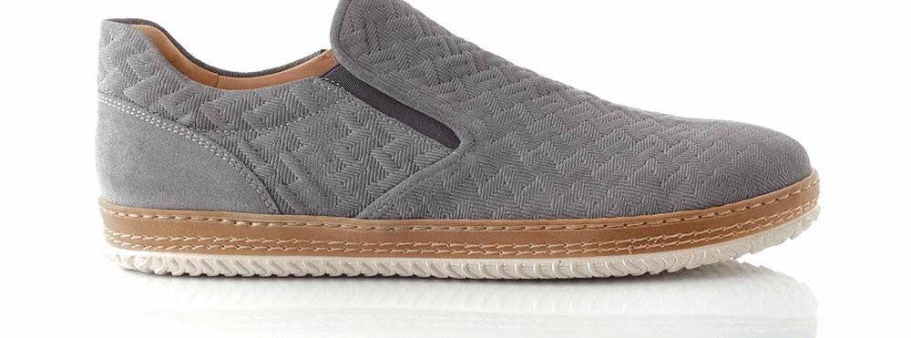 CHANIOTAKIS - Ανδρικά παπούτσια ADRIANO γκρι