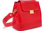 FOLLI FOLLIE - Γυναικεία τσάντα FOLLI FOLLIE ON THE DOT κόκκινη