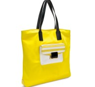 FOLLI FOLLIE - Γυναικεία τσάντα ώμου FOLLI FOLLIE κίτρινη