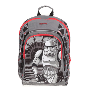 AMERICAN TOURISTER - Παιδική τσάντα πλάτης NEW WONDER Stars Wars AMERICAN TOURISTER γκρι