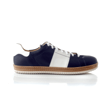 CHANIOTAKIS - Ανδρικά sneakers SPORT COLANDER μπλε-λευκά