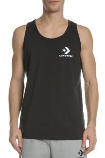 CONVERSE - Ανδρική αμάνικη μπλούζα CONVERSE Star μαύρη