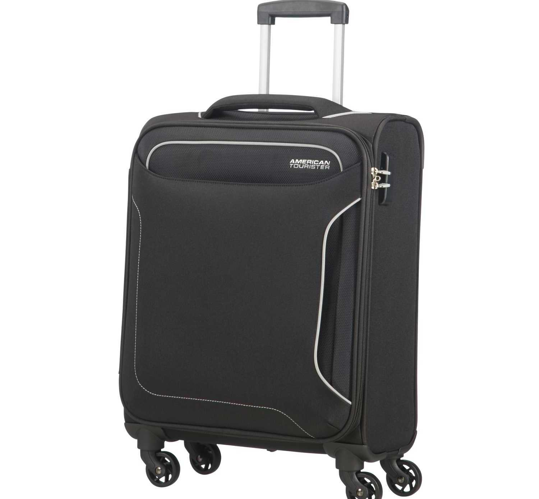 AMERICAN TOURISTER - Βαλίτσα καμπίνας HOLIDAY HEAT SPINNER 55/20 μαύρη