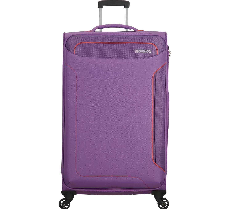 AMERICAN TOURISTER - Βαλίτσα μεγάλου μεγέθους HOLIDAY HEAT SPINNER 79/29 μοβ