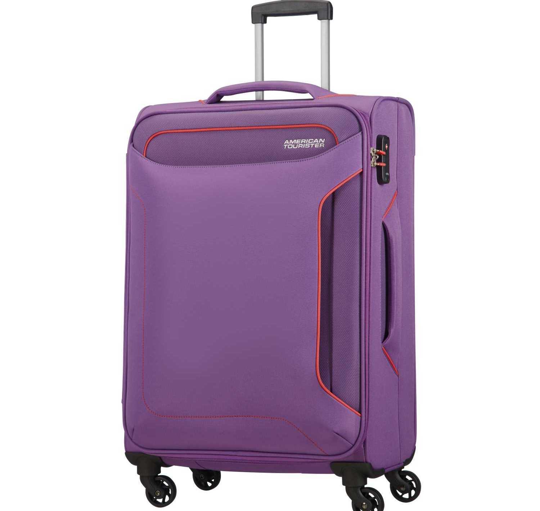 AMERICAN TOURISTER - Βαλίτσα μεσαίου μεγέθους HOLIDAY HEAT SPINNER 67/24 μοβ
