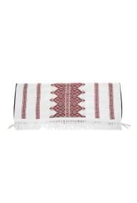 STYLISHIOUS by Alexandra Katsaiti - Unisex πετσέτα θαλάσσης STYLISHIOUS με κόκκινο κέντημα