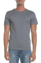 AMERICAN VINTAGE - Ανδρική κοντομάνικη μπλούζα AMERICAN VINTAGE γκρι