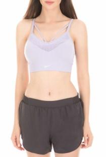 NIKE - Γυναικείο αθλητικό μπουστάκι NIKE SEAMLESS LIGHT μοβ