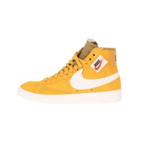 NIKE - Γυναικεία παπούτσια NIKE BLAZER MID REBEL κίτρινα