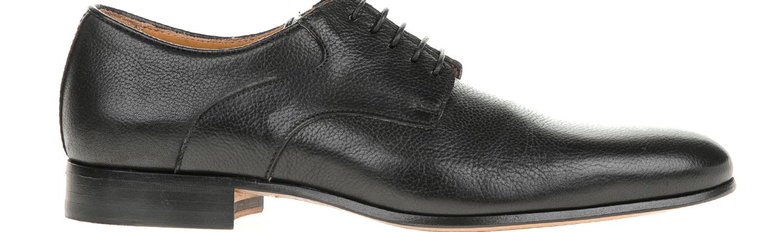 PERLAMODA - Ανδρικά δετά παπούτσια PERLAMODA μαύρα