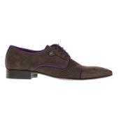 PERLAMODA - Ανδρικά δετά παπούτσια PERLAMODA καφέ image